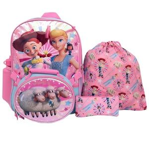 toys story girls backpack set with extras